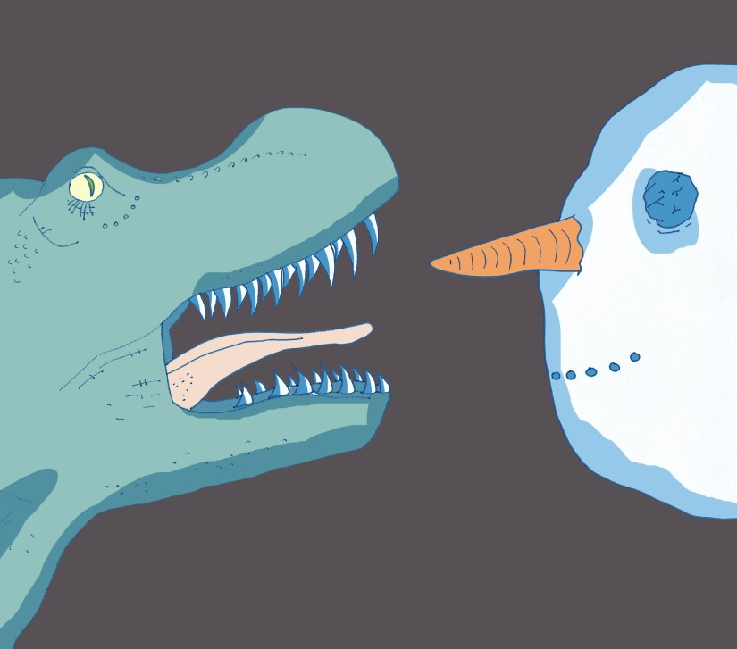 Cold, Warm or just Right? Were Dinosaurs actually cold-blooded?